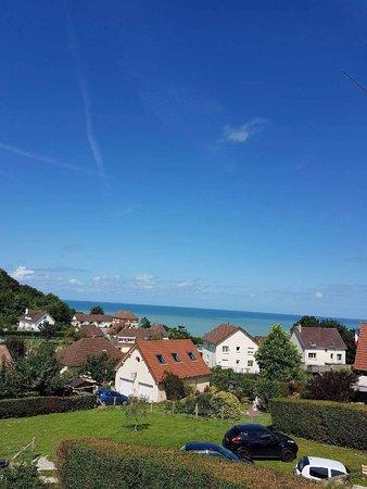 Berneval-le-Grand, Francja: Vue mer