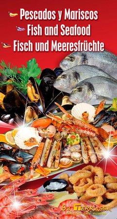 Mariscos y pescados frescos!!!!