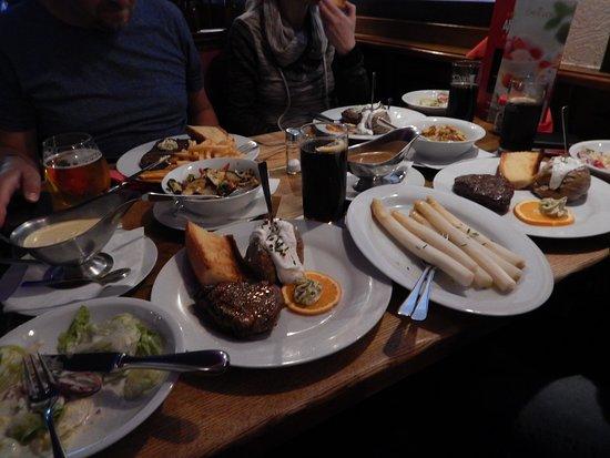 Steakhouse Argentina: Mad til 4