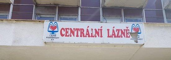 Lazne Podebrady: Centrální lázně