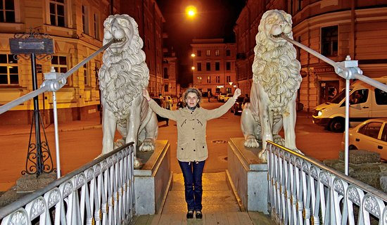 San Petersburgo, Rusia: Дрессировщица.