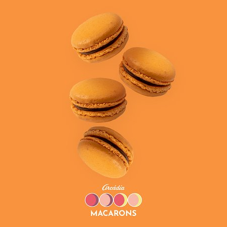 Arcadia Casa do Chocolate (Campus S. João): Macarons de Laranja