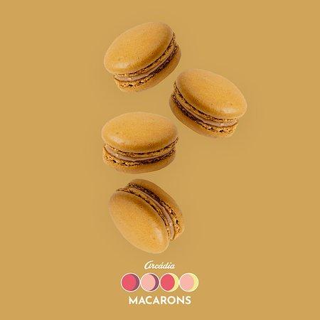 Arcadia Casa do Chocolate (Campus S. João): Macarons de Manteiga de Amendoim