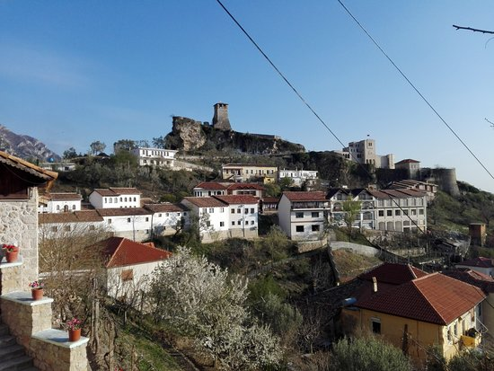 Day tour of Kruja from Tirana: View on the Kruja fort