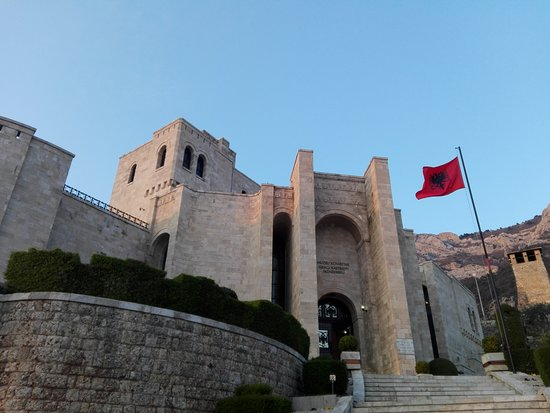 Day tour of Kruja from Tirana: Kruja fort from up close with a museum entrance
