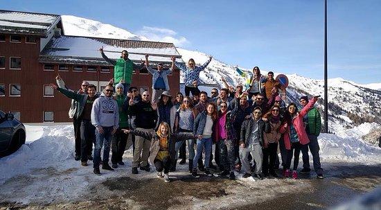 French Alps, ฝรั่งเศส: Ski Trip to Valmenier @ France