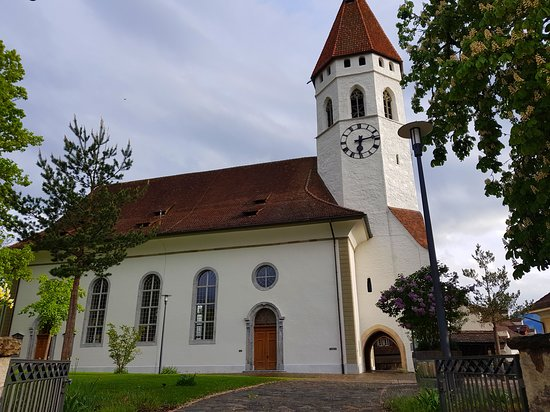 The Central Church Of Thun