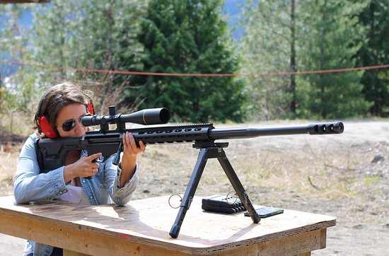 Pemberton, Canada: Shooting Fun 20 min from Whistler BC! 50 BMG