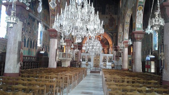 View inside the Church from the entrance