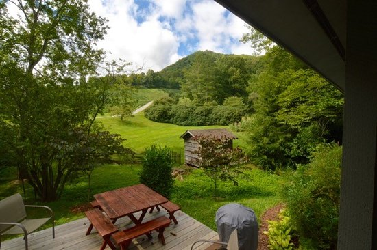 View From Millstone Cabin