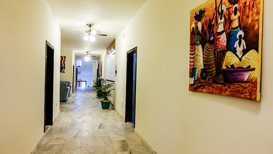 Corridors (African paintings available for Sale)