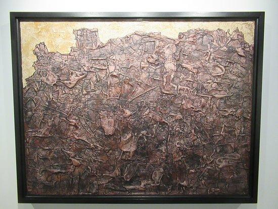 """Centre Pompidou Malaga: """"Le voyageur sans boussole"""" (1952) par Jean DUBUFFET (1901-1985)"""