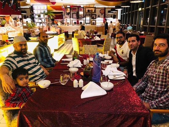 The Talk Restaurant: Before dinner, waiting for Iftaar :)
