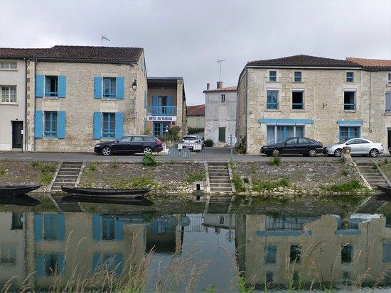 Hotel Au Marais: View of front of hotel (comprises two buildings)
