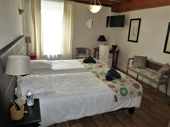 Our room at Hotel au Marais