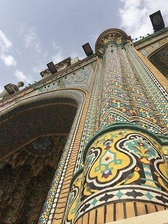 Mosaicos coloridos.
