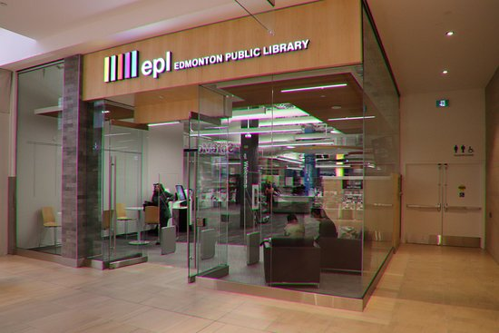 Londonderry Mall: A public library