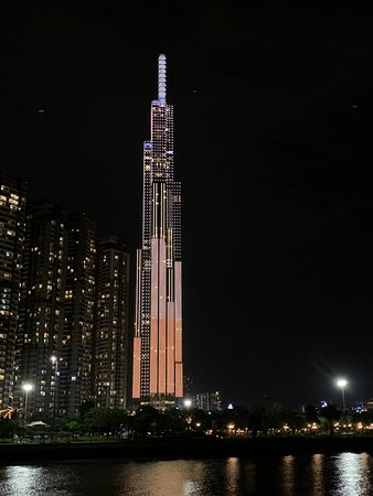 The tallest building in Asia