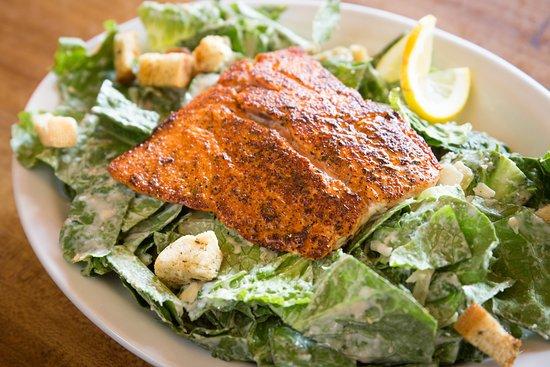 Cornucopia: Grilled Salmon Caesar