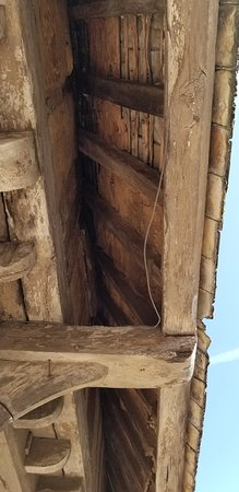 Dunster Village: Roof Timbers