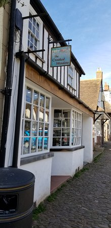 Dunster Village: The Crooked Window Shop
