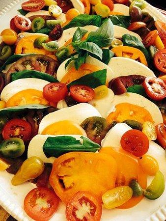 Local Heirloom Tomato Salad