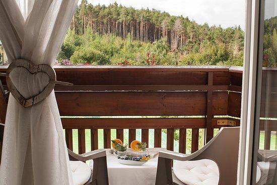 Scoiattolo: vista balcone