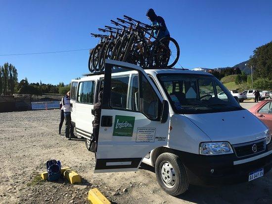 Logistica Aventura: Detalhes do Pedal da Patagônia.