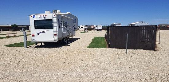 Slaton, TX: RV sites new area