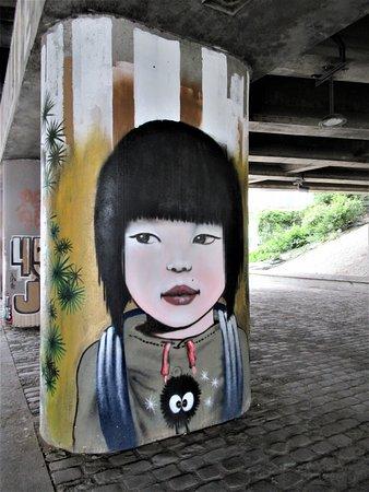 """Fresque """"Galerie de portraits-6"""""""