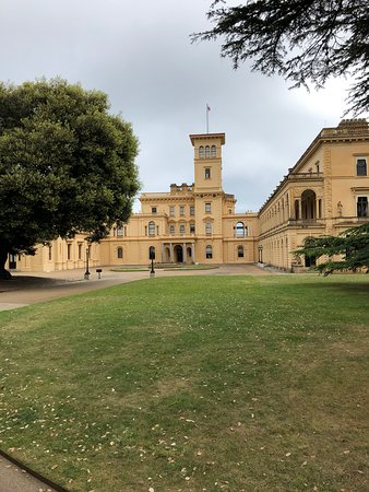 Front view of Osbourne house