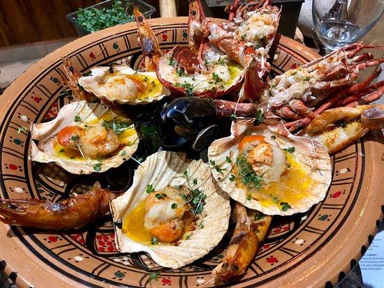 Yama Gouraya Restaurant: Yama Gouraya plater