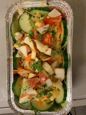 Salade veggie à emporter