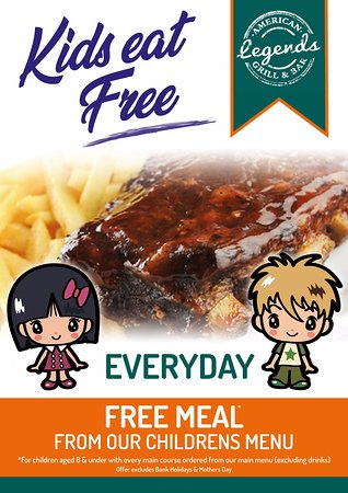 Kids eat free everyday