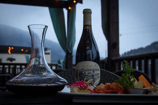 Sage Tapas and Wine Bar: Foxtrot Pinot Noir.    Arguably the best of the BC pinots.