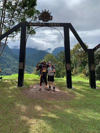 Kokoda Trekking (Kindred kokoda Adventure Trek). Departing Owers' corner.