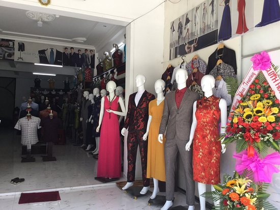 Huong Ly Cloth Shop: Happy work with My customer