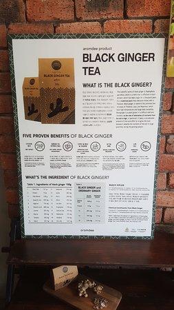 Black Ginger Tea