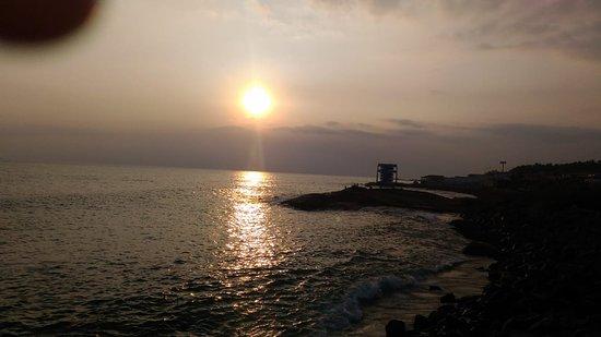 Devgad, India: Sunset