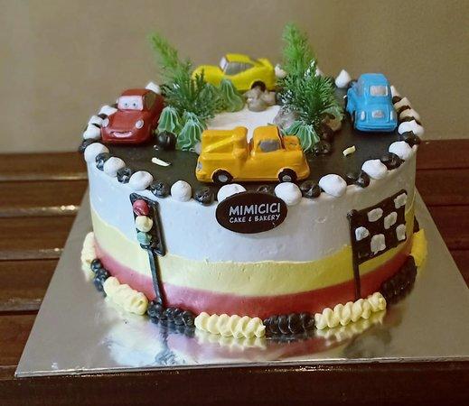 Kuenya Lucu Ulasan Mimi Cici Cake Kue Ulang Tahun