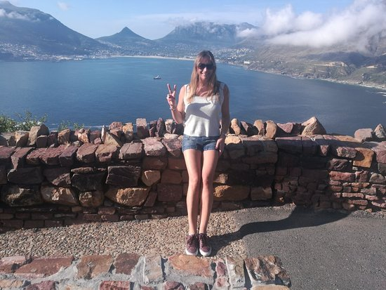 Amazing view From Chapman's Peak Drive Cape Town