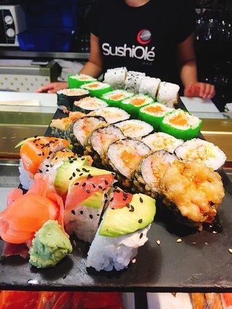 Sushi Ole: Uramakis y futomakis