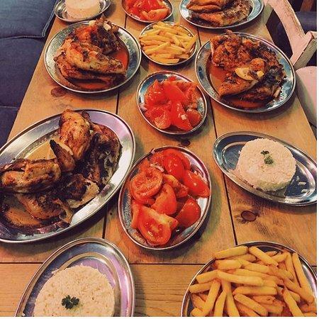 Chicken piri piri franggo west, better then nando's.