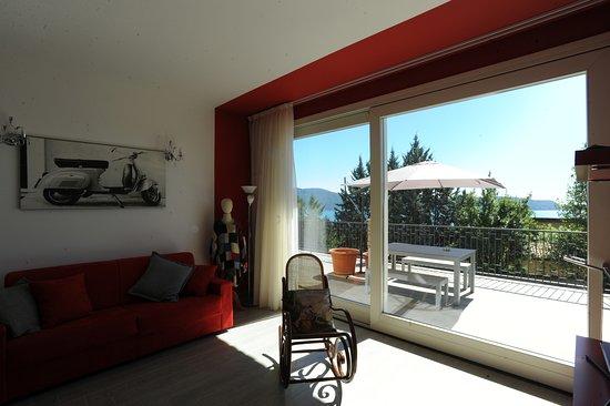 Residence Virgilio: Appartamento Red - Soggiorno