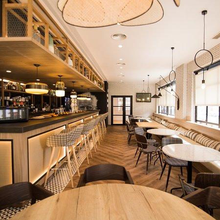 Cafetería Oroel, en el centro de Jaca