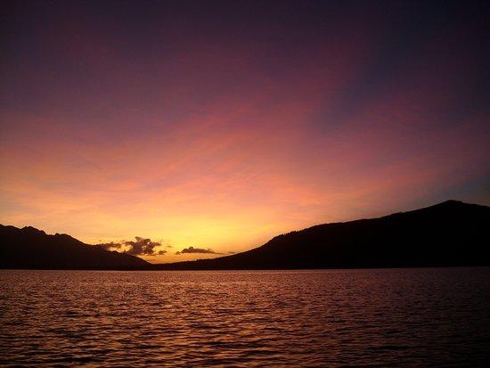 Calubian, الفلبين: lever de soleil a calubian leyte