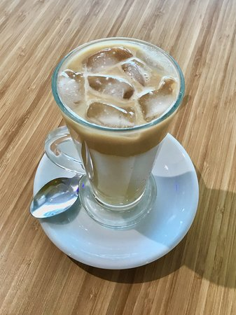 Cool down with a lovely Iced Latte