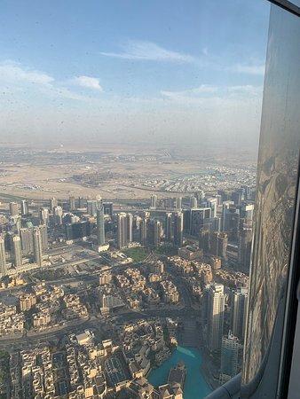 Burç Halife: vista dal 124 piano