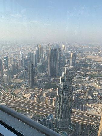 Burj Khalifa: vista dal 124 piano