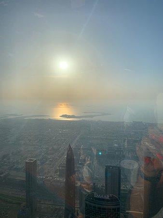 Burj Khalifa: vista dal 125 piano